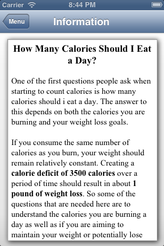 weight loss time calculator